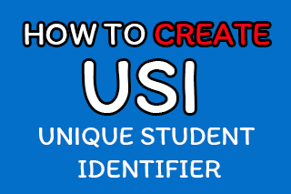 สอนการสมัครหมายเลข USI