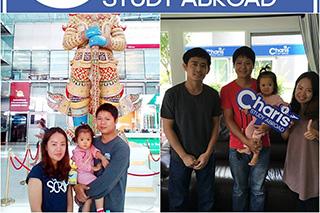 วีซ่านักเรียน + ติดตามครอบครัว